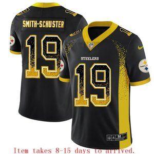 Steelers #19 JuJu Smith-Schuster Drift Jersey